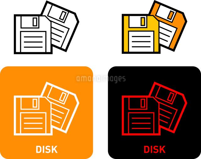 Disk iconのイラスト素材 [FYI03101549]