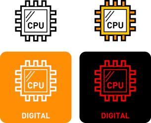 Digital iconのイラスト素材 [FYI03101551]