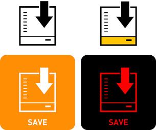Storage iconのイラスト素材 [FYI03101552]