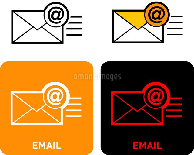 E-mail iconのイラスト素材 [FYI03101553]