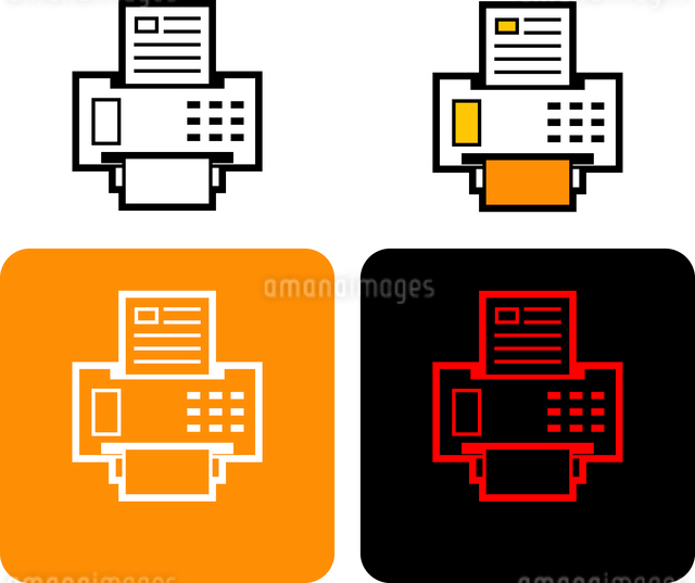 Fax iconのイラスト素材 [FYI03101558]