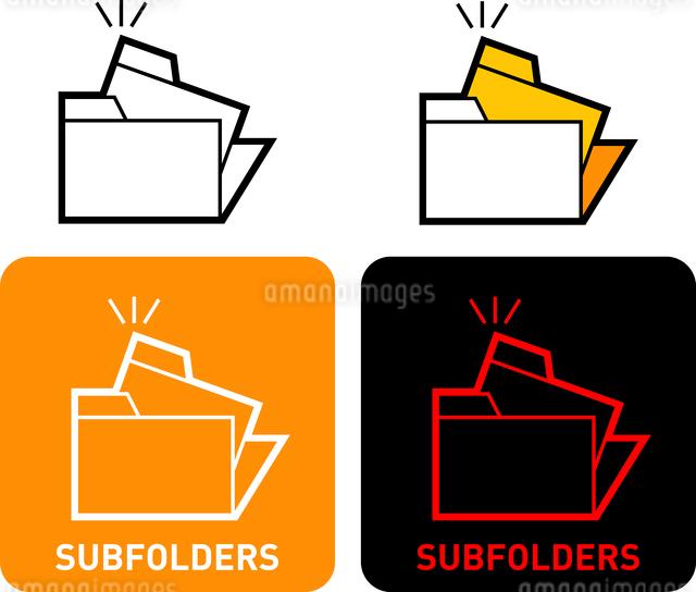 Folder iconのイラスト素材 [FYI03101562]