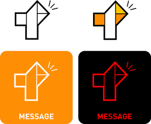 Message iconのイラスト素材 [FYI03101565]