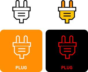 Plug iconのイラスト素材 [FYI03101578]