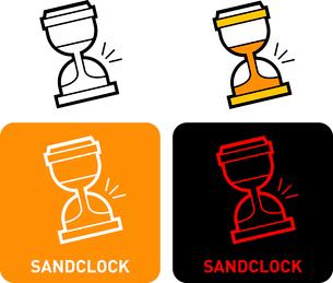 Sandglass iconのイラスト素材 [FYI03101584]