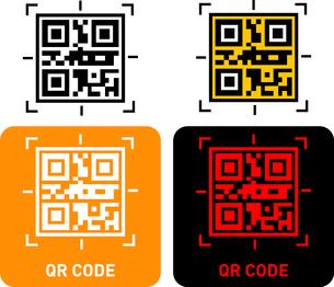 QR Code iconのイラスト素材 [FYI03101598]