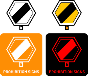 Prohibition iconのイラスト素材 [FYI03101604]