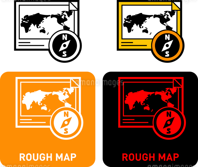 Map iconのイラスト素材 [FYI03101610]