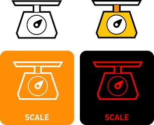 Scales iconのイラスト素材 [FYI03101616]
