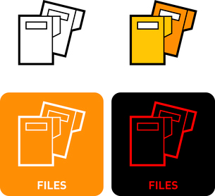 File iconのイラスト素材 [FYI03101626]