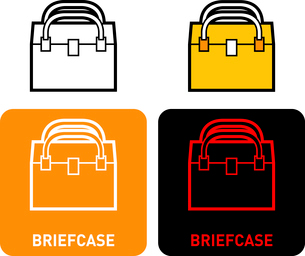 Briefcase iconのイラスト素材 [FYI03101637]
