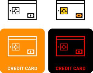 Credit Card iconのイラスト素材 [FYI03101638]
