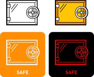 Safe iconのイラスト素材 [FYI03101643]