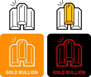 Bullion iconのイラスト素材 [FYI03101645]