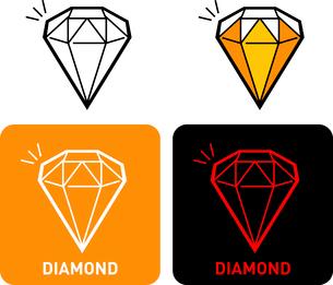 Diamond iconのイラスト素材 [FYI03101647]