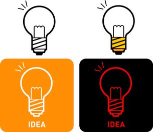 Idea iconのイラスト素材 [FYI03101649]