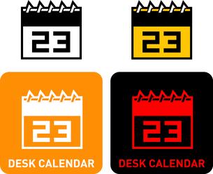 Calendar iconのイラスト素材 [FYI03101650]