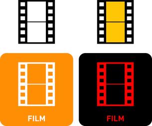 Film iconのイラスト素材 [FYI03101652]