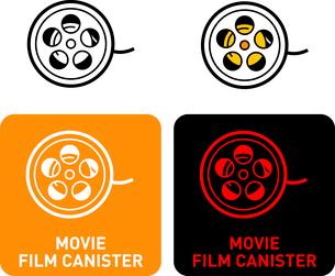 Movie Film iconのイラスト素材 [FYI03101655]