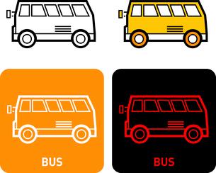 Bus iconのイラスト素材 [FYI03101661]