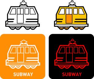 Subway iconのイラスト素材 [FYI03101665]