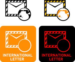 International Mail iconのイラスト素材 [FYI03101670]