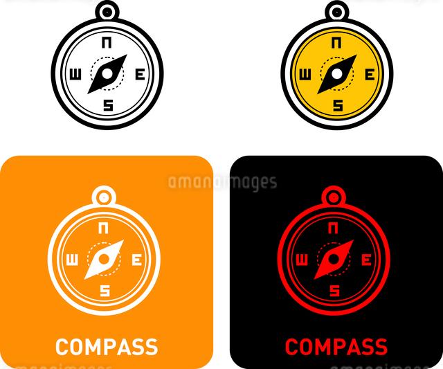 Compass iconのイラスト素材 [FYI03101672]