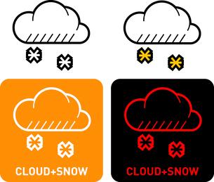 Cloud iconのイラスト素材 [FYI03101682]