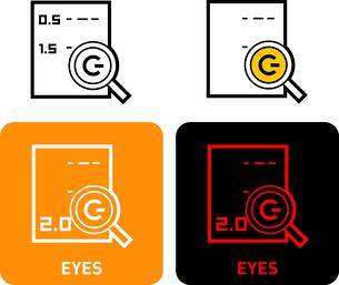 Eye iconのイラスト素材 [FYI03101689]