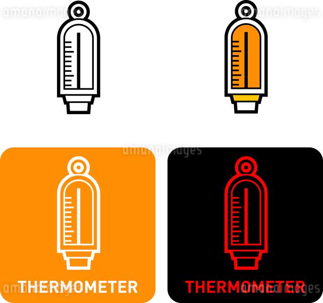 Thermometer iconのイラスト素材 [FYI03101690]