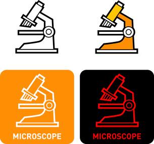 Microscope iconのイラスト素材 [FYI03101700]