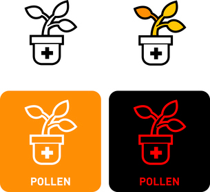 Pollen iconのイラスト素材 [FYI03101704]