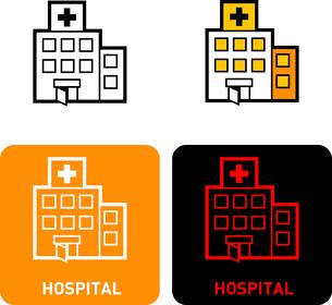 Hospital iconのイラスト素材 [FYI03101705]
