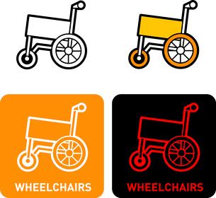 Wheelchair iconのイラスト素材 [FYI03101706]