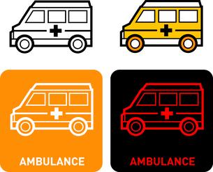 Ambulance iconのイラスト素材 [FYI03101707]