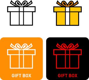 Gift Box iconのイラスト素材 [FYI03101712]
