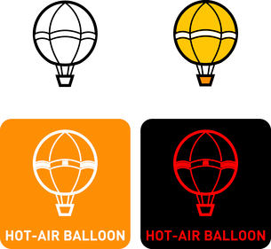 Hot Air Balloon iconのイラスト素材 [FYI03101715]