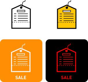 Sale iconのイラスト素材 [FYI03101720]