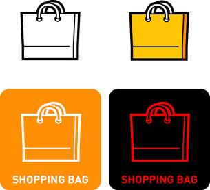 Shopping Bag iconのイラスト素材 [FYI03101721]