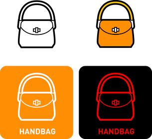 Handbag iconのイラスト素材 [FYI03101725]