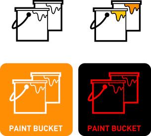 Paint iconのイラスト素材 [FYI03101730]