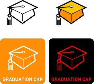 Graduation cap iconのイラスト素材 [FYI03101732]