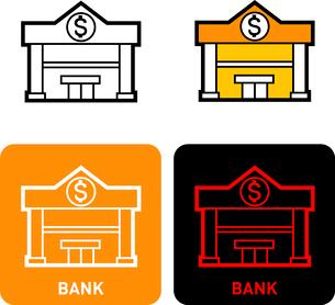 Bank iconのイラスト素材 [FYI03101749]