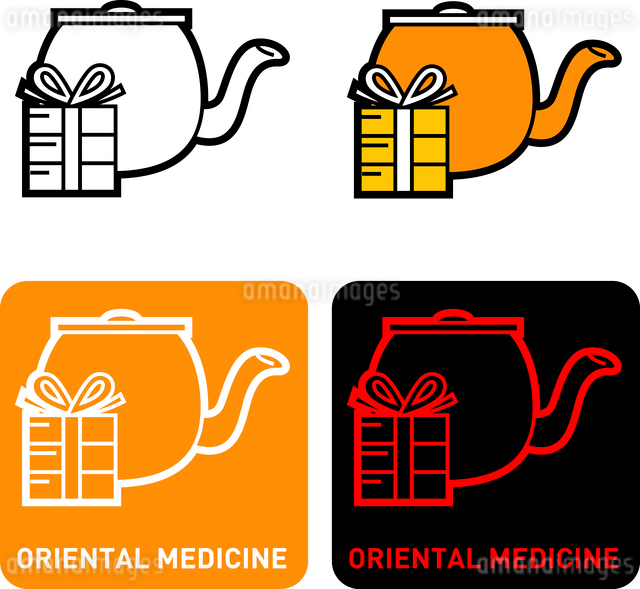 Chinese medicine iconのイラスト素材 [FYI03101759]