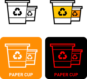 Cups iconのイラスト素材 [FYI03101762]