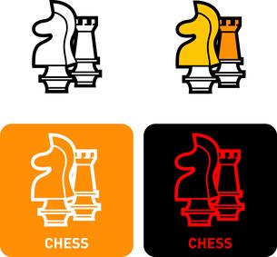 Chess iconのイラスト素材 [FYI03101763]