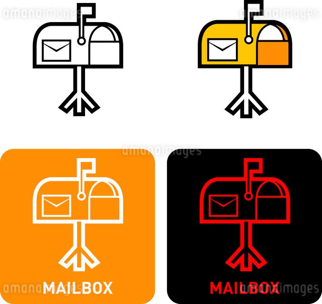 Mailbox iconのイラスト素材 [FYI03101767]