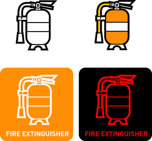 Fire extinguisher iconのイラスト素材 [FYI03101769]