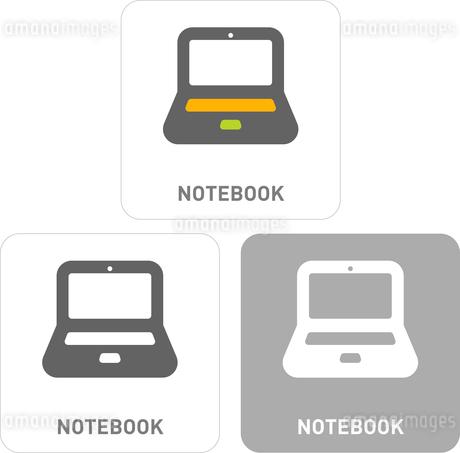 Notebook Pictogram Iconsのイラスト素材 [FYI03101777]