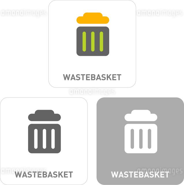 Trash Pictogram Iconsのイラスト素材 [FYI03101779]